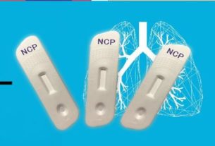 Ochrona przed koronawirusem test z palca - Test COVID-19 IgM/IgG