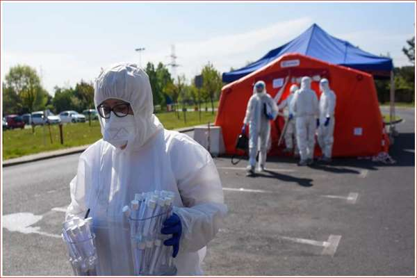 Już 4 mln zakażeń koronawirusem na świecie (niedziela, 10 maja)